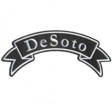 1st. tygmärke DeSoto 300x120mm