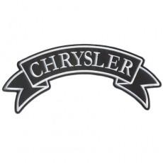 1st. tygmärke Chrysler 300x120mm