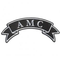 1st. tygmärke AMC 300x120mm