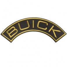 1st. tygmärke BUICK Gul 325x120mm