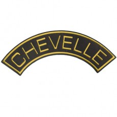 1st. tygmärke CHEVELLE Gul 325x120mm