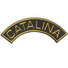 1st. tygmärke CATALINA Gul 325x120mm