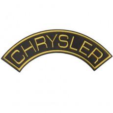 1st. tygmärke CHRYSLER Gul 325x120mm