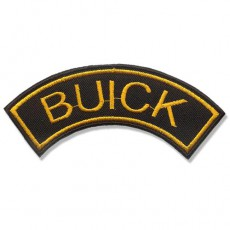 1st. Buick 110x40mm